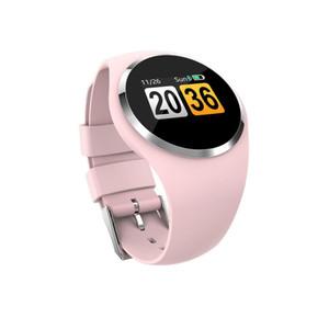 GEJIAN inteligente relógio Q1 pedômetro lembrete sedentário Bluetooth 4.0 medição da freqüência cardíaca um botão de exame físico