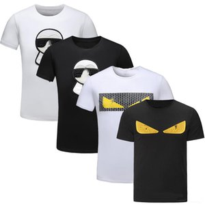 Novità Moda Casual Designer di lusso Magliette per uomo Tee Shirts Lettera Ricamo T Shirt Mens Tees Magliette a maniche corte
