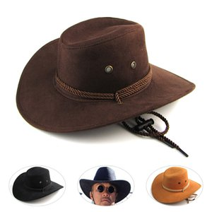 2020 New Arrival Men Women 3 color Large brim hat cowboy hat for man millinery outdoor sunbonnet casual fashion Father gift