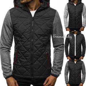Sudaderas con capucha de invierno para hombres nuevos Sudadera con capucha cálida Chaqueta de abrigo Outwear Sweater The Fur Coat Factory Envío gratis