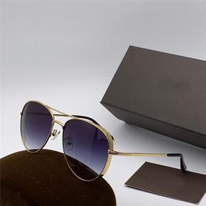 New Fashion Brand auch Französisch Marke Sonnenbrille 0723 Piloten Metall klassischen Rahmen Farbe Wickelbeine Beine UV-Schutz Sonnenbrille