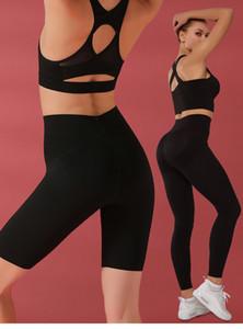 2020 New Arrival Woman Workout Gym Yoga Leggings Women Squatproof High Waist Sport Fitness Leggins Ladies Black Leggings