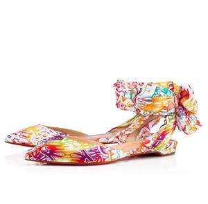 Summer Designer Brand Women Lahore Slides Flat Red Bottom Sandals Slippers With Ankle Strap Lady Casual Outdoor Beach Sandals