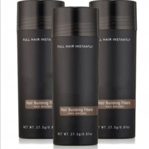 Fibras dropshipping Top Hair Building PIK 27,5 g Toppki pelo de la fibra adelgazamiento Corrector Instantáneo la queratina del pelo Polvo Negro aerosol