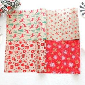 Bandiera decorativa di Natale del poliestere della tovaglia del corridore della tavola di Natale per le decorazioni domestiche di Natale di festa di nozze Trasporto libero