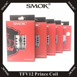SMOK TFV12 Prince Bobina sostituibile X6 Q4 M4 T10 Maglia Mesh X2 Clapton bobina per TFV12 Prince Resa Prince Tank 100% originale Smoktech