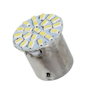 1156 P21W 7056 BA15S 22 SMD LED Car Stop Light Tail Side Indicator bulb 22smd auto Lamp Daytime Running Light white 12V