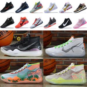 2020air zoom kevindurantoklahoma city thunder KD 12 shoesflyknit warriors basketballMitchell Ness designer sneakers