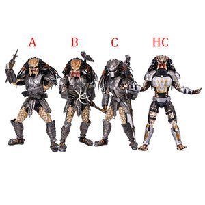 wholesale AVP Alien vs. Predator 32cm 1 6 scale Scar Predator MMS190 PVC Action Figure Collectible Model Toys gifts