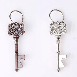 Ferramentas Bottle Vintage Opener Keychain Forma Key metais portátil cerveja abridor criativa Retro Mini Crown Chaveiro cozinha TTA1361-14