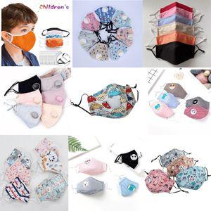 дети сталкиваются масками против пыли тумана лица Mouth Маски пыленепроницаемом дышащих многоразовых и моющихся моды унисекс 2020 дизайнерских маски для лица