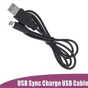 USB Power Charger кабель шнур питания для Nintendo 3DS DSi DSI XL 2 в 1 USB Sync 1.2 M DHL Fedex бесплатная быстрая доставка