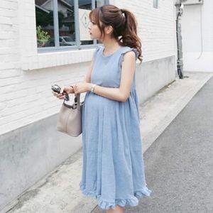 Мода для беременного Платья Фотографии Реквизит Summer Beach White Lace Maternity платье Беременных фотографическое платье