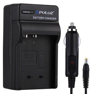 Casio CNP120 pil için PULUZ dijital kamera pil araç şarj