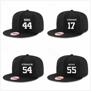 Base-ball personnalisé Snapback Hats John Hicks David McKay Daniel Norris Nick Ramirez Zac Reininger Gregory Soto Drew Verhagen Grayson Greiner Cap