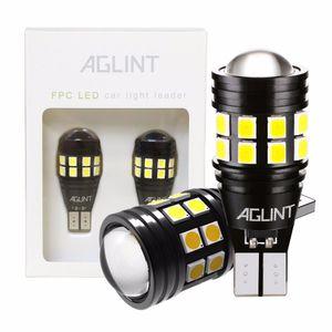 AGLINT 2PCS T15 T16 W16W 921 955 LED Ampuller Canbus OBC Hatasız 3030 SMD 22LEDs Araç Yedek Ampul Ters Işıklar Beyaz 12-24V