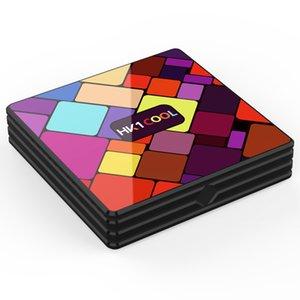 HK1 بارد الروبوت 9.0 TV Box 4GB 128GB RK3318 رباعية النواة 2.4 جرام 5 جرام المزدوج العلامة التجارية WIFI BT4.0 4K مجموعة أعلى مربع