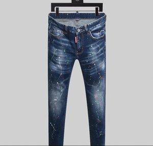 2020 nouvelle marque de la mode des jeans occasionnels des hommes européens et américains, le lavage de haute qualité, main pur broyage, l'optimisation de la qualité% 1111