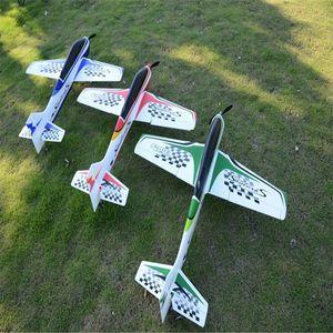 Avión RC Sport 950mm Envergadura Modelos EPO F3A FPV Aviones Avión RC Kit para niños de juguete al aire libre Azul Rojo Verde T191221