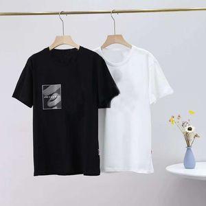 Gradiente Lettera Mens T Shirt Mens Fashion Casual Uomo T-shirt vintage girocollo adulti Homme Tee Shirts maglietta a maniche corte