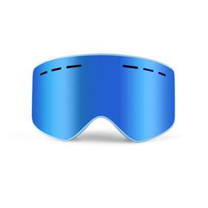 Mıknatıs Tasarımcı Kayak Gözlükler Çift UV400 Anti-sis Mercek Erkekler Kadınlar Kayak Gözlük Kayak Snowboard Açık Goggles Maske