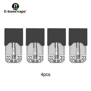 4pcs E-bossvape Epod Cartouche 0.5ml Capacité 1.5ohm bobine pour E-bossvape Epod Kit De Démarrage Original
