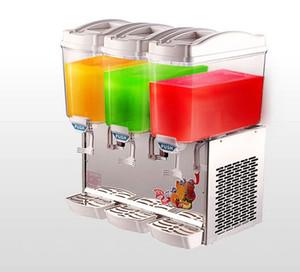 Новое молоко сока напитка машины напитка бака рекламы 17L*3 холодное горячее электрическое делая машину распределителя