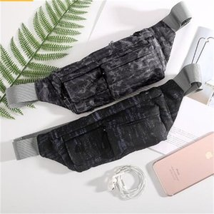 Camouflage En Plein Air Poitrine Sac De Mode Impression Étanche Unique Sacs à Bandoulière Multifonctionnel Mobile Téléphone Taille Pack Randonnée Sports 25wqa O1