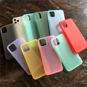 Luxury Liquid Emulsion Soft Silicone Matte Phone Case For iPhone 11 pro max Transparent Cover For Iphone xr xs 8 7 Plus