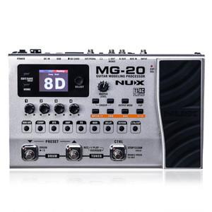 NUX MG-20 Гитара Мультиэффекты Педаль AMP Черный Digitech Моделирование мультиэффектов Процессор Guitarra Loop / Volume