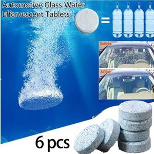 Kuulee 6 Pcs / pára-brisa Car Set Vidro Washer Cleaner Compact efervescente pastilhas de detergente