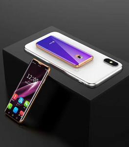 Barato por atacado marca original 4g telefones celulares android smartphones desbloqueio 128GB + 32GB de forma bonito mini-celular inteligente celular LTE