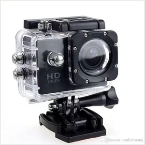 SJ4000 Спорт камеры SJ 4000 1080P 2-дюймовый ЖК-дисплей Full HD Под водонепроницаемый 30M Sport DV Запись черточки Cam для велосипедов Skate Запись MQ30