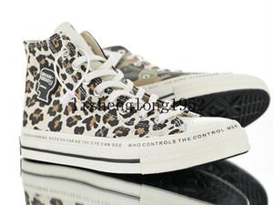 Hot Sale-2019 Brain Dead Chuck 1970 zapatos casuales Hola hombres y mujeres Cuatro lados zapatos casual pato mandarín tamaño 35-44