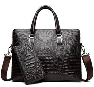 HBP New Briefcase Designer Men Laptop Bag Black Designer Handbag Business Men Laptop Bag Messenger Bag #d221
