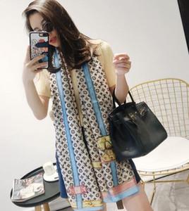 Горячий шелковый шарф для дизайна Женщины Весна Лето Европейский замок Длинные шарфы Wrap с Tag 180x70Cm Шали