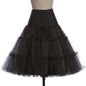 Saias para mulheres saia tutu Silps balanço Rockabilly Petticoat underskirt nupcial do casamento Crinoline macio Pettiskirt Para Vintage Mulheres Vestido