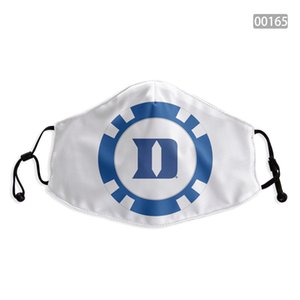 NCAA Duke Blue Devils Face Covering washable adjustable reusable mask Party safe outdoor sports dust proof breathable Face masks Tools