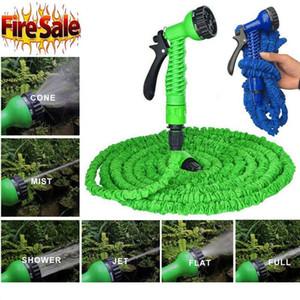 Lavagem de carro de mangueira de jardim regador Esticado Magia Expansível Jardim suprimentos de água mangueira de água tubulação ferramentas de limpeza de carro 15M EEE120
