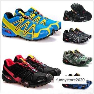2018 New arrive Zapatillas Speedcross 3 Running Shoes Walking Outdoor Speed cross Sport Sneakers iii Athletic Hiking Size 46