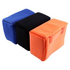 Cámara réflex portátil de reparto de inserción del filtro interna de acolchado protector de la bolsa para SLR DSLR Camera Bag liberan la venta caliente nueva OEM 2019 de alta calidad