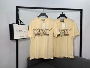 2020 Brandshirt Hot Vendedor Designerluxury Mulheres dos homens T-shirt Moda Casual Primavera-Verão Camisetas Boa Qualidade Luxo T-shirt da menina 20022139Y