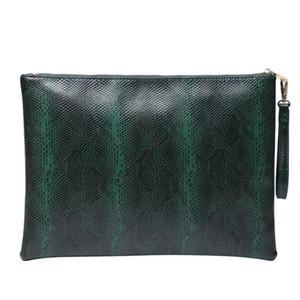 Il nuovo modo personalizzato le cartelle File Laptop pelle Embrossed Python Borsa per Macbook pro 13 pollici 2020 Bag Trendy