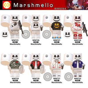 WM6064 super-herói marshmello Fortnited Building Blocks Brinquedos para venda quente Amazon Natal