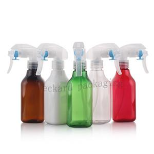12PCS 200ML névoa fina gatilho pulverizador frasco para cosméticos, produtos de limpeza domésticos, limpadores de vidro domésticos, produtos de banho