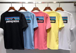 Brand t shirt patagonia Tshirt Sleeve Tee Breathable Men Women Lovers Fashion men women T-shirts