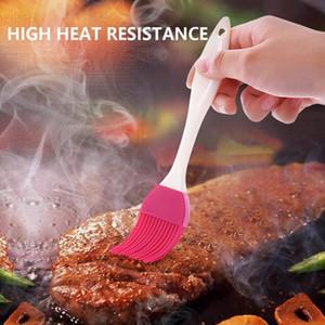 Silikon Pişirme Bakeware Ekmek Cook Fırçalar Pasta Yağı BBQ Teyelleme Fırça Pasta Araçları 5 Renk