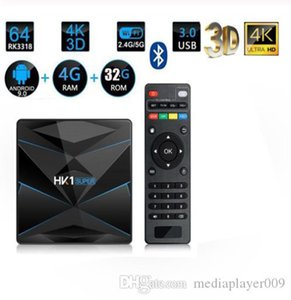 smart CC1 SUPER Android 9.0 TV Box RK3318 2.4G / 5G WiFi BT 4.0 4K Set Top Box HD