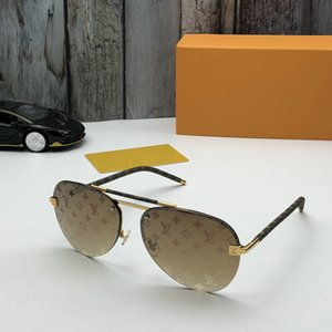 2020 Erkekler Kare Tutum Güneş Sliver / Gri tonları Gafas de sol tasarımcı Box ile Sürüş Gözlük Yeni güneş gözlüğü