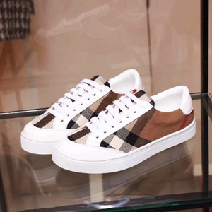 Rubber Sole 2019 Luxury Designer Shoes Men Women Sneakers Runner Black White Suede Leather fashion women trainers shoes Wild